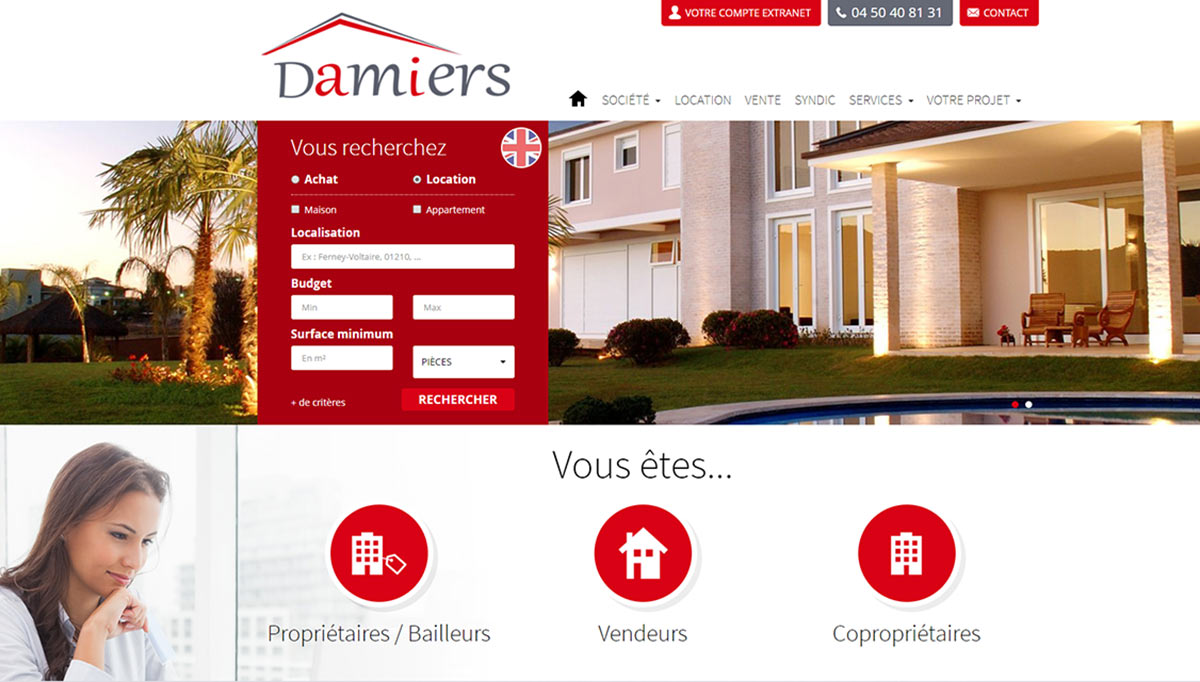 Agence des Damiers