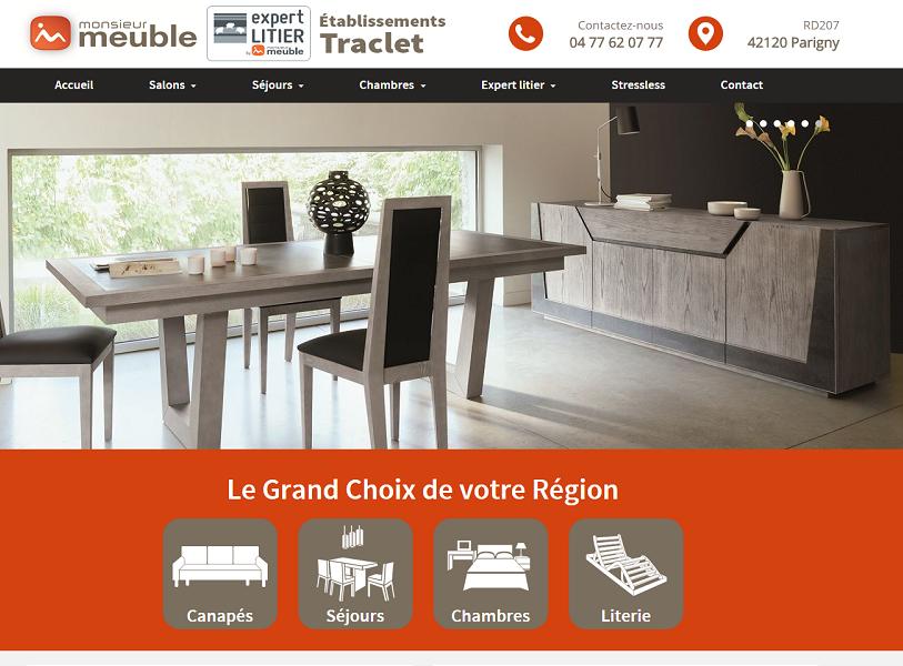 monsieur meuble traclet. Black Bedroom Furniture Sets. Home Design Ideas