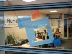 La guerre des post-it à Roanne !